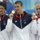 Men's and Women's Olympic Swimming.  National Aquatics Center